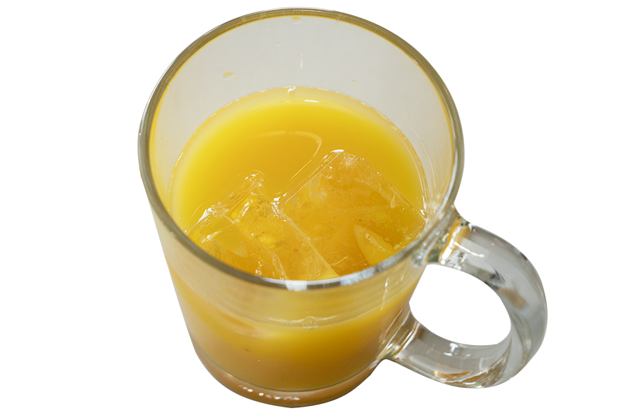 オーガニックオレンジジュース